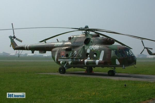 0844 Mi-17, 3VrK Slovak AF, SFOR markings