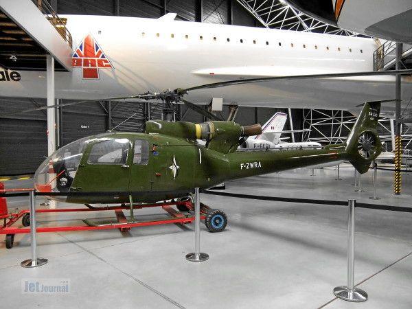 002 F ZWRA Aerospatiale SA340 Gazelle