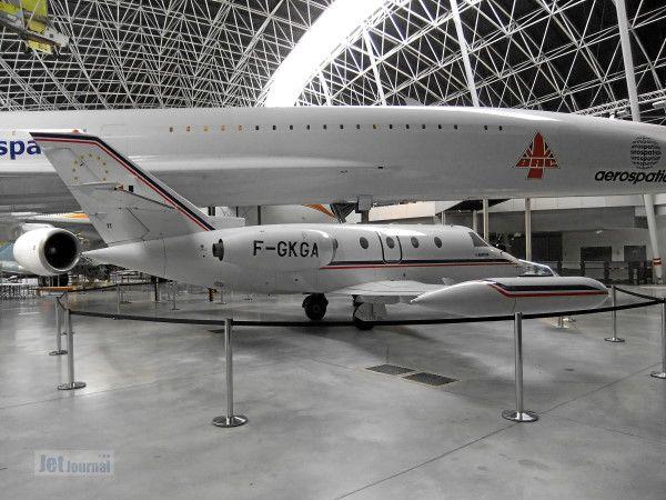 F Gkga Aerospatiale Sn601 Corvette