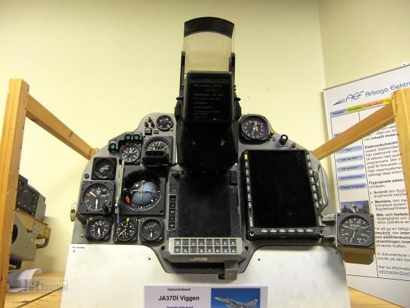 JA37DI Viggen Instrumentpanel
