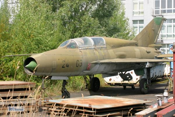 MiG-21 US, ex. 219 NVA bei Oyten