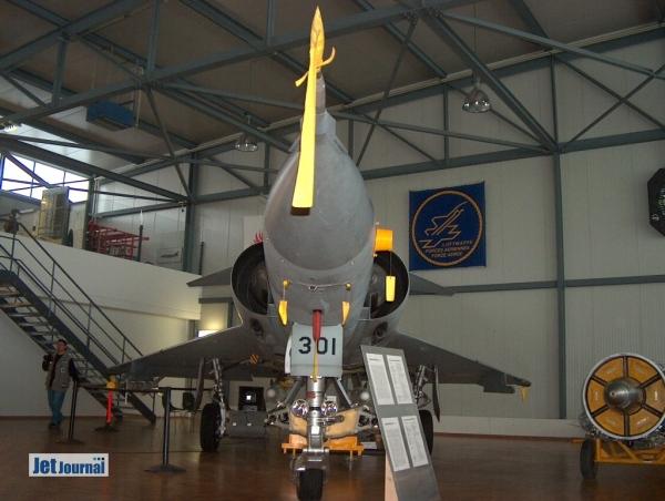 Mirage IIIS im Museum Payerne