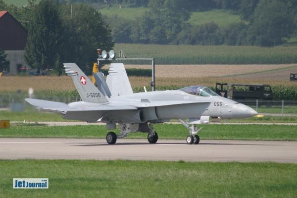 F/A-18C, Payerne